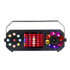 American DJ Boombox FX2 LED Disco 4in1 Effect Light ADJ Laser Derby Gobo
