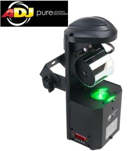 American DJ Inno Pocket Roll LED Light ADJ Barrel Scanner
