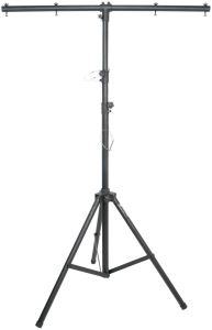LIGHTWEIGHT LIGHTING STAND WITH T-BAR