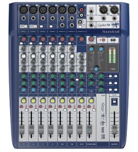 Soundcraft Signature 10 Compact Mixer with USB & Lexicon Effects