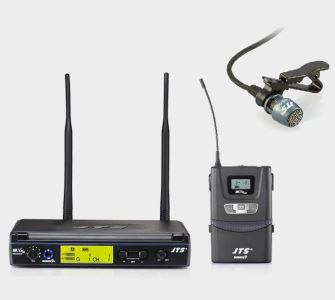 JTS IN-164R IN-264TB UHF Beltpack Lapelle Tie Wireless Radio Microphone system