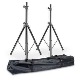 American DJ SPSX2B Speaker Stands - Pair with bag