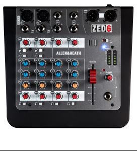 Allen & Heath ZED 6 Compact Analog Mixer ZED-6