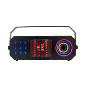 American DJ Boombox FX3 LED Disco 4in1 Effect Light ADJ Laser Derby Rings