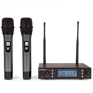 Kam KWM 1940 Twin UHF Multi Channel Professional Wireless Microphone System