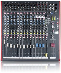 Allen & Heath ZED 16 FX Mixer 10 Mic/Line, 3 Stereo, USB ZED16FX and Sonar X1L.E