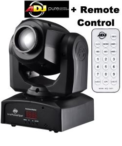 American DJ Inno Pocket Spot LED Light ADJ Moving Head with remote